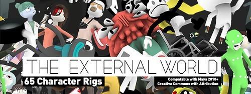 External World Character Rigs