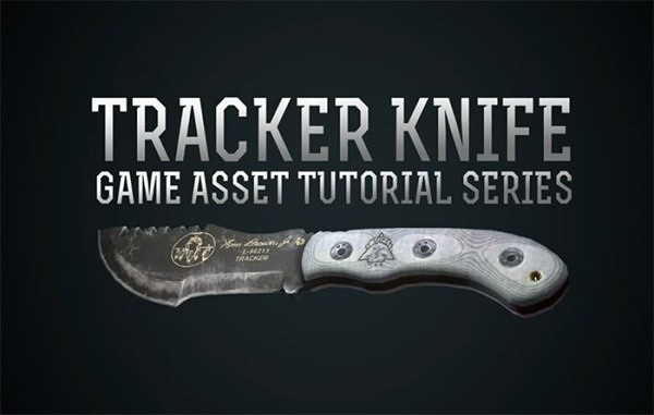 Tracker Knife Game Asset Tutorial