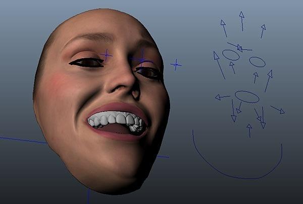 Faceware Facial Rig Library Emily