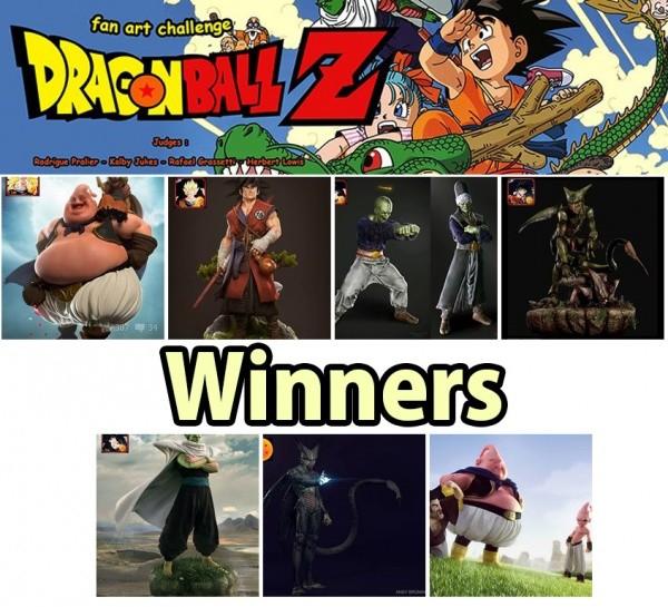 DBZ Contest Winners