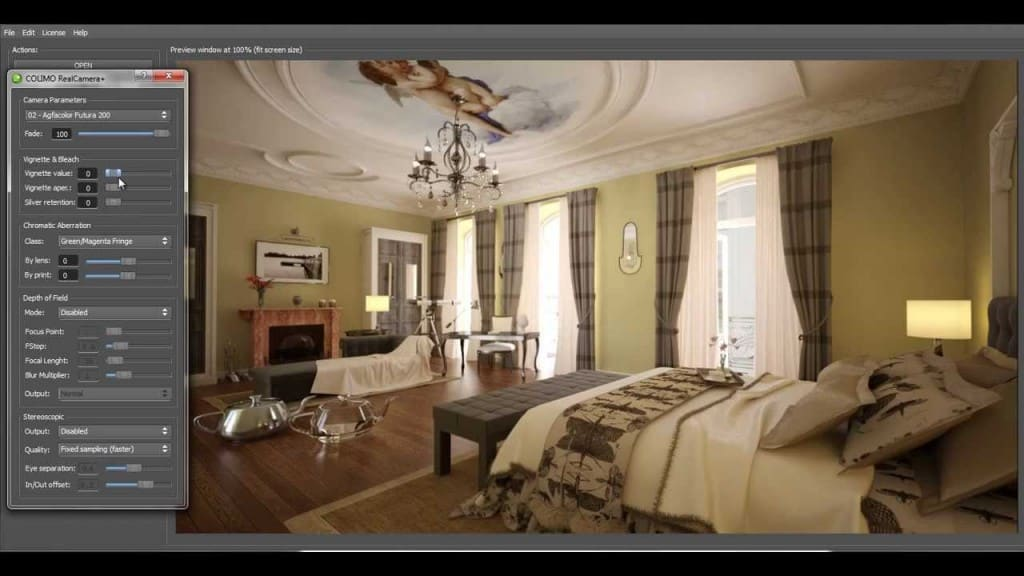 Motiva COLIMO 1.7 with native Vray 2.40 support