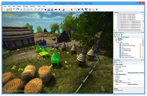 NeoAxis 3D Engine 2.0 Announcement