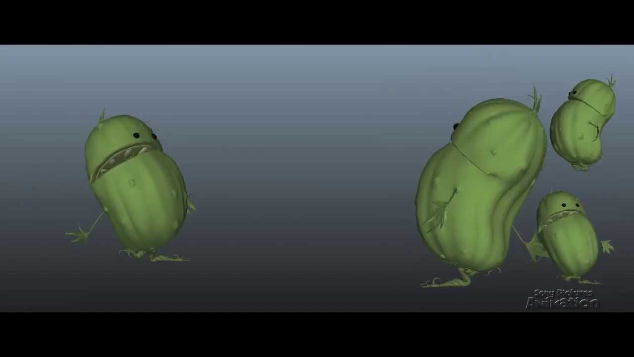 Making of Foodimals Animation in Cloudy with a chance of Meatballs 2