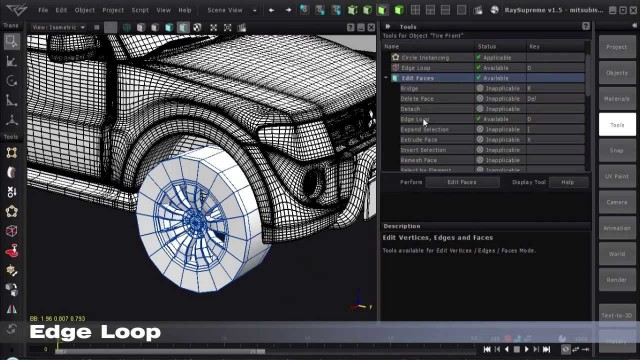 RaySupreme 3D Features
