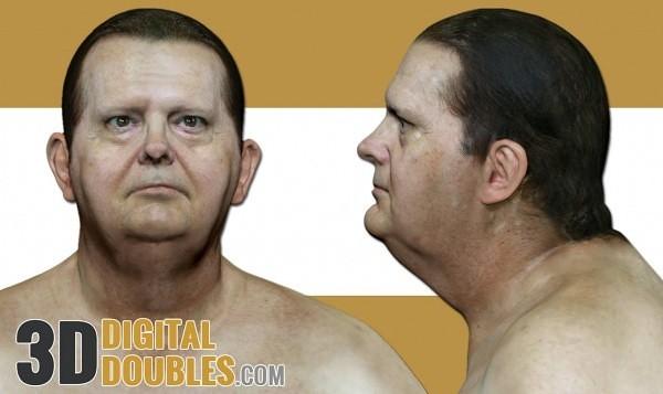 3D Digital Doubles Head Scan Free Download