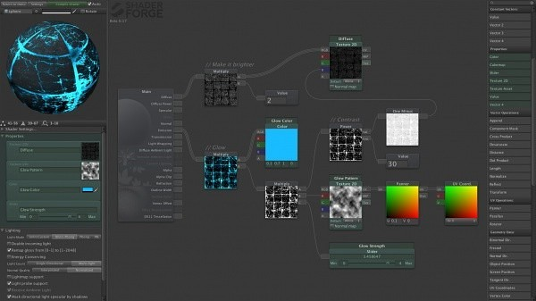 Shader Forge Editor