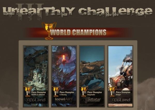 Unearthly Challenge III Winner