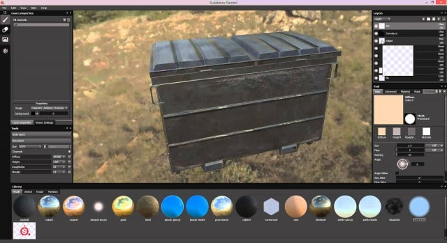 Substance Painter - Multi-Channel Painting