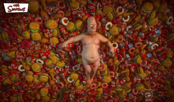 Junk Food is Beauty Homer The Simpsons 1