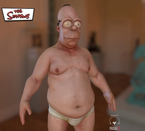 Junk Food is Beauty Homer The Simpsons 2