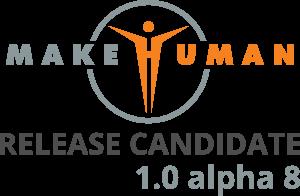 MakeHuman 1.0 alpha8rc