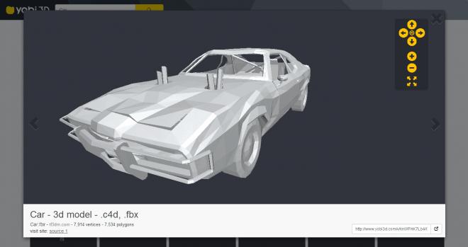 Yobi3D - Free 3D Model Search Viewer