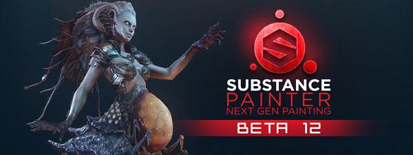 Substance Painter beta 12