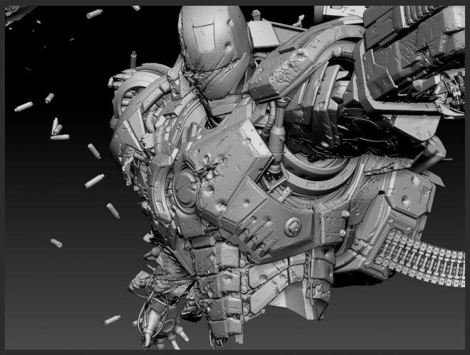Zbrush Concept WAR MACHINE ZTL