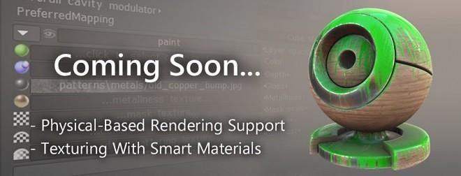 3D-Coat PBR Coming Soon