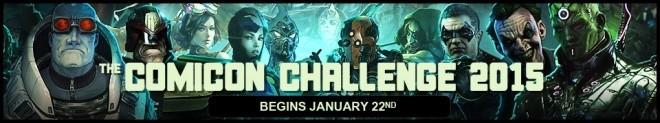 Comicon Challenge 2015