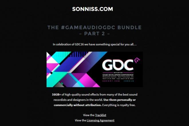 The #GameAudioGDC Bundle Part 2