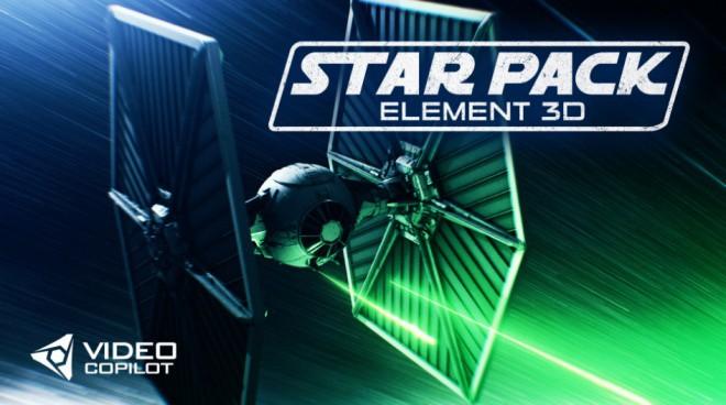 Star Pack Element 3D