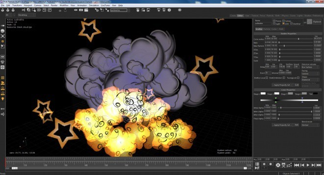 Fork Particle Editor 3