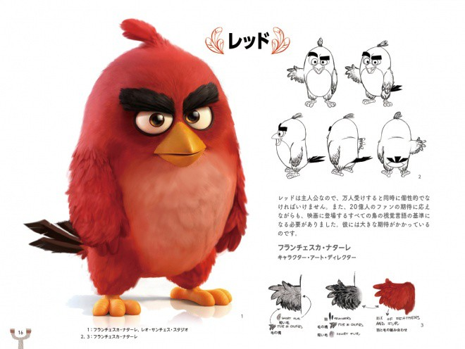 The Art of the Angry Birds Movie jp 001